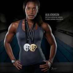 At age 26, Jamaica's Alia Atkinson makes history to become FIRST Black woman to win world swimming title, December 07, 2014. The win was also Jamaica's first gold in world swimming championships.