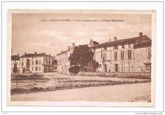 saint savinien vers la gendarmerie et l hotel Cazaillet