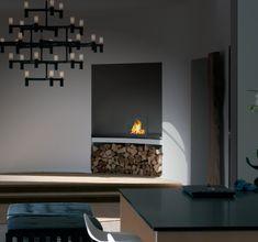 cheminees d'angle bioethanol decoration moderne idee salon