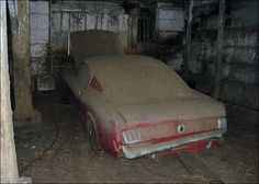 Barn find fastback Mustang
