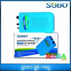จัดส่งฟรี  ปั๊มลม SOBO SB-980 รุ่นใส่ถ่าน ลม1ทาง 2L/min ปั๊มออกซิเจน  ราคาเพียง  350 บาท  เท่านั้น คุณสมบัติ มีดังนี้ กำลังปั๊ม : 2L/min ใช้งานง่าย ปลอดภัย เพียงใส่ถ่าน 2 ก้อน ขนาดกระทัดรัด พกพาสะดวก Pet Supplies, Office Supplies, Portable Battery, Pet Products, Pet Accessories