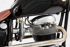 BSA Lightning Bobber by The Gas box #motorcycles #bobber #motos | caferacerpasion.com