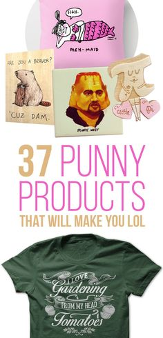 You're only *pun*ishing yourself if you don't buy them.