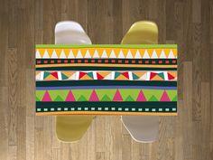 """Für einen wahrhaft mustergültigen Tisch: Das Design """"Zigzag"""" von creatisto! #tischfolie #designfolie #kreativeszuhause #wohnideen"""