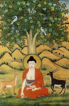 The Buddha at Deer Park