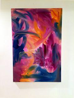 Abstract Art - TorchWood Art Studio- Meghan E. Barany. www.TorchWoodArtStudio.comOriginal Acrylic Abstract painting Modern by TorchWoodArtStudio