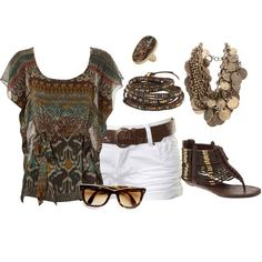 Polyvore Summer Outfits | summer outfits