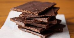 I love chocolate. Fortunately, for all the chocolate lovers out there, studies have proven that dark chocolate is really good for you. It is loaded with antioxidants and has many health benefits, including lowering cholesterol and blood sugar. Dark chocolate has magnesium, which helps relax the nervous system and muscles;...More
