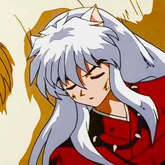 Inuyasha asleep
