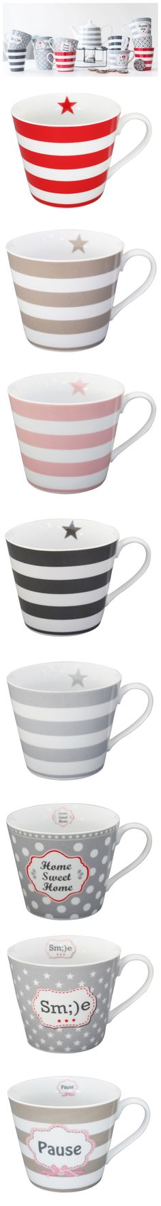 new Striped Mugs by Krasilnikoff  so elegant... don't you think so?