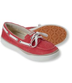 #LLBean: Women's Bean's Canvas Deck Shoes, Moc