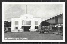 Stasiun Tugu ~ Djokja Railway Station ~ Java ~ Indonesia ca Sukabumi, Dutch East Indies, Semarang, Yogyakarta, Medan, Surabaya, Old Pictures, 1920s, Trains