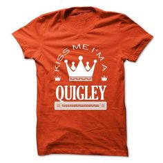 Kiss Me I Am QUIGLEY Queen Day 2015 - #pretty shirt #tshirt illustration. LOWEST SHIPPING => https://www.sunfrog.com/Names/Kiss-Me-I-Am-QUIGLEY-Queen-Day-2015-mfdabtzirw.html?68278