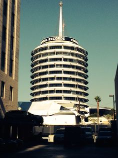 Capitol Records building. Los Angeles love affair. <3