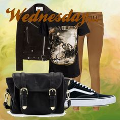 Wednesdsy by mgg121191 on Polyvore featuring moda, Acne Studios, Boohoo, Vans and Poverty Flats