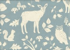 See related links to what you are looking for. Baby Fabric, Woodland, Moose Art, Blue, Animals, Animales, Animaux, Animal, Animais