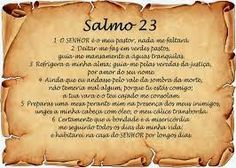 Divulgador da Palavra: Um Estudo sobre o Salmo 23.
