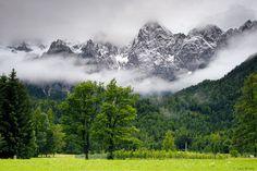 Gozd Martuljek, Julian Alps, Slovenia; Mountain Photography by Jack Brauer.