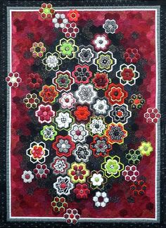 Little Jewels in My Garden 2010 Her web site is worth a visit... amazing pieces, amazing quilting... she is an artist.