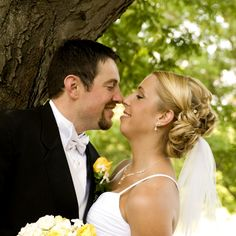 Wedding Day - Nose Kiss - Reflections Creative Photography