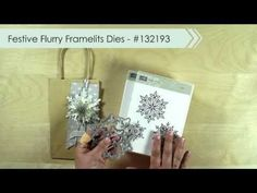 2013 Seasonal Catalog Project: Festive Flurry Gift Tags - Video