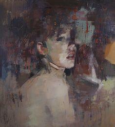 "Saatchi Online Artist: Yuriy Ibragimov; Encaustic Wax, 2011, Painting ""Humble"""