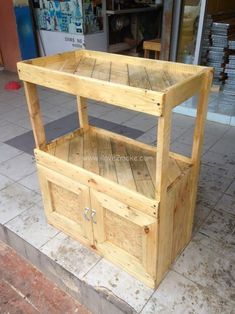 pallet double coffee table
