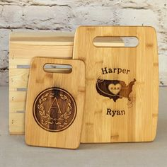 Personalized Cutting Boards in Small and Medium