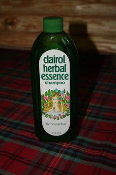 Clairol Herbal Essence Shampoo...Smelled heavenly!