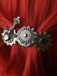Sword Hair Clip  Steampunk Hair Accessories  by ArcanumByAerrowae