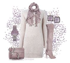 """""""Sweater Weather"""" by gemique ❤ liked on Polyvore featuring Larkspur & Hawk, Kenzo, Aquazzura, Rebecca Minkoff and Juicy Couture"""