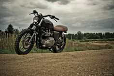 Custom #Triumph Bonneville Scrambler by FCR