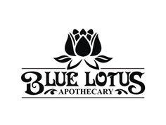 Blue Lotus Apothecary logo design - 48HoursLogo.com