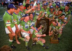 GREATEST CANBERRA RAIDERS MOMENTS: 3. A dominant third premiership, 1994 The Raiders had the 1994 Grand Final won from the kickoff. Paul Osborne, a late call up for a suspended John Lomax, produced some brilliant offloads to set up the first two tries. It was a dominant and comprehensive victory over the Bulldogs, 36-12.