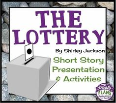an analysis of a false tradition in the lottery a short story by shirley jackson Shirley jackson genre short story novel style realism category horror gothic comedy  administrator of the lottery representing tradition, he.