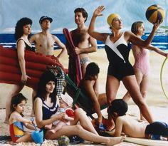 f The bathers by Anne Zahalka