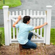 Photo: Kolin Smith | thisoldhouse.com | from How to Build a Garden Gate