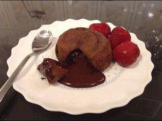 Vulcan de ciocolata /Lava cake | Cristine Cuisine Lava Cakes, Fondant Cakes, Tiramisu, Ale, Deserts, Cupcakes, Make It Yourself, Breakfast, Muffins