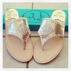 New Jacks! 45 days until the wedding! #weddingshoes #jackrogers #jackrogersusa