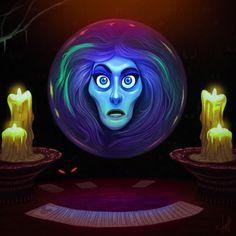 Madam Leota - The Haunted Mansion Disneyland by jdelgado.deviantart.com on @DeviantArt