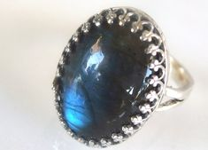 silver 925 labradorite ring!!! so lucky by Angeliki