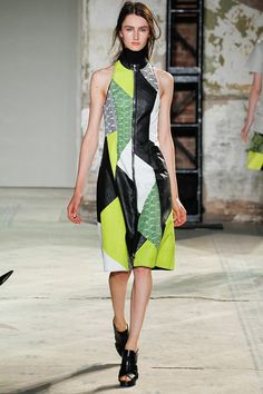 I'm confused by this ugly patchwork at Proenza Schouler. Click for more.