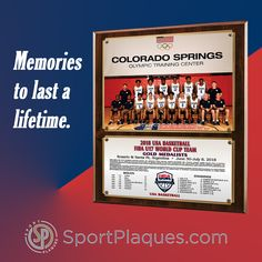 From those tee ball leagues all the way up to the big leagues, like USA Basketball, teams and players develop memories to last a lifetime. Let us help you preserve and share those memories with a photo plaque. A great photo and your info on the front and a place for the team to autograph it on the back. #teammemories #USAbasketball #youthsports #schoolsports #sportsleague #teamautographs Team Photos, Sports Photos, Award Plaques, World Cup Teams, Sports Awards, School Sports, Basketball Teams, Banquet, Preserve