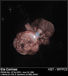 Hubble Observes a Star On the Brink of Destruction: Eta Carinae