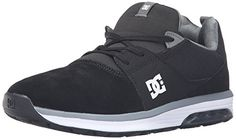 DC Heathrow IA Skate Shoe BlackGreyWhite 11 M US -- Continue to the product at the image link.