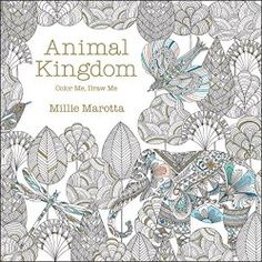 animal kingdom coloring book for adults by millie marotta