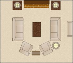 Living Room Furniture Layout Ideas furniture arranging tricks | easy tricks, living rooms and room