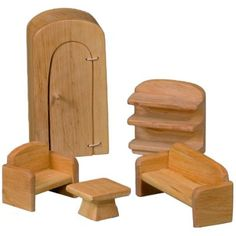 waldorf+doll+houses | Dollhouse Furniture - Bedroom - The Wooden Wagon