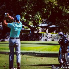 """""""The most important shot in golf is the next one"""" - Ben Hogan"""