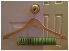 Shower curtain rings to organize scarves and belts, http://geauxgirlie.wordpress.com/